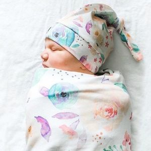 Other - Brand new Newborn Sage Swaddle with knot hat